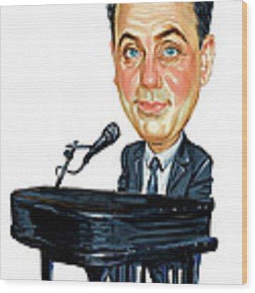 Billy Joel Wood Print