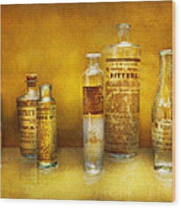 Doctor - Oil Essences Wood Print