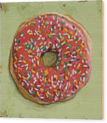 Donut #1 Wood Print by David Palmer