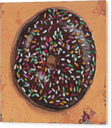 Donut #2 Wood Print by David Palmer