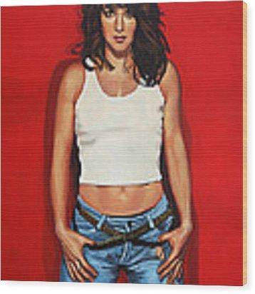 Ellen Ten Damme Painting Wood Print