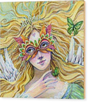 Emerald Princess Wood Print