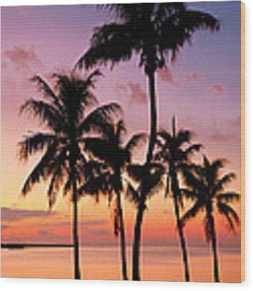 Florida Breeze Wood Print by Chad Dutson