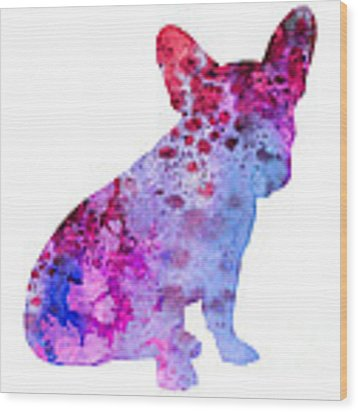 French Bulldog 3 Wood Print
