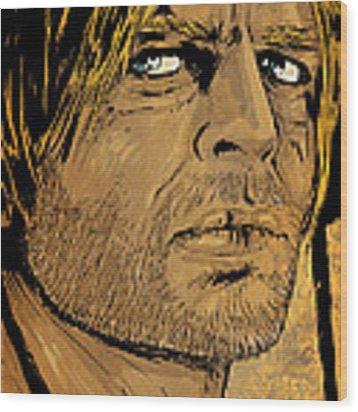 Klaus Kinski Wood Print