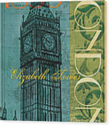 London 1859 Wood Print