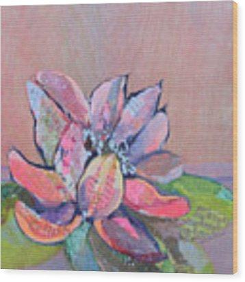 Lotus Iv Wood Print