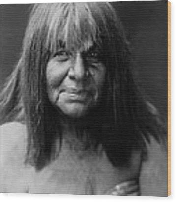 Maricopa Indian Women Circa 1907 Wood Print by Aged Pixel