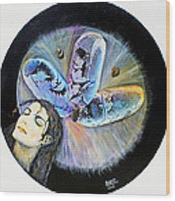 Michael Jackson  Wood Print by Augusta Stylianou