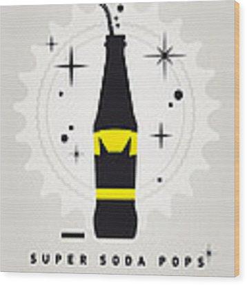 My Super Soda Pops No-07 Wood Print