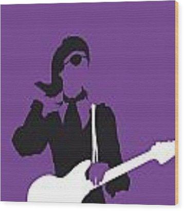 No031 My Bowie Minimal Music Poster Wood Print by Chungkong Art