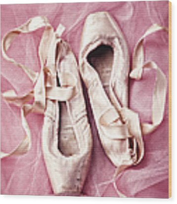 Pink Pirouette Wood Print