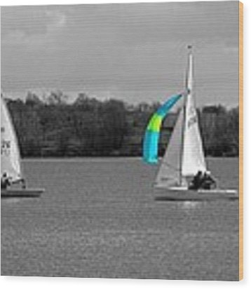 Spring Sailing Wood Print by Jeremy Hayden