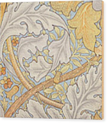 St James Wallpaper Design Wood Print