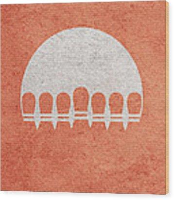 The Big Lebowski Wood Print