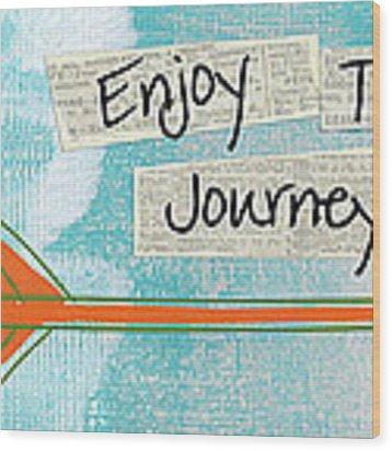 The Journey Wood Print