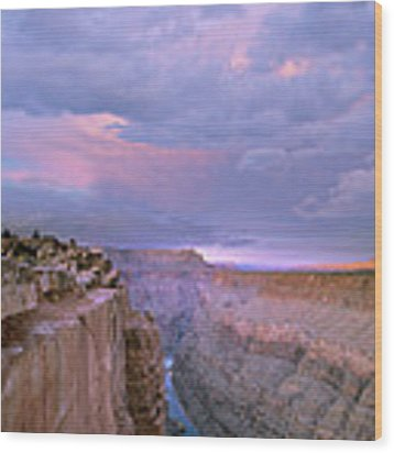 Toroweap Overlook Grand Canyon Nparizona Wood Print by Tim Fitzharris