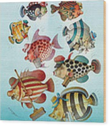 Underwater Story 01 Wood Print