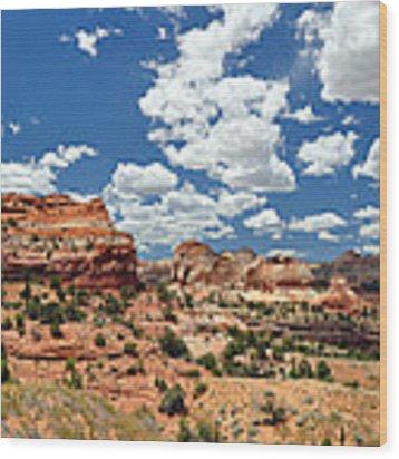 Utah Wood Print by Matthew Chapman
