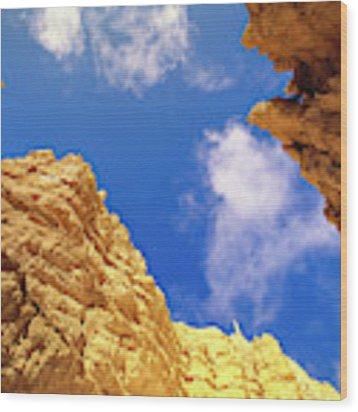 View From Of Bryce Canyon Wood Print by Yva Momatiuk John Eastcott