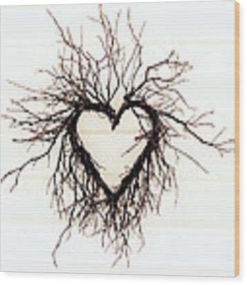 Wild Heart Wood Print by Lupen  Grainne