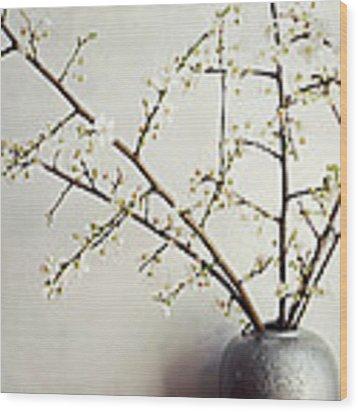 Zen Bouquet Wood Print by Lupen  Grainne
