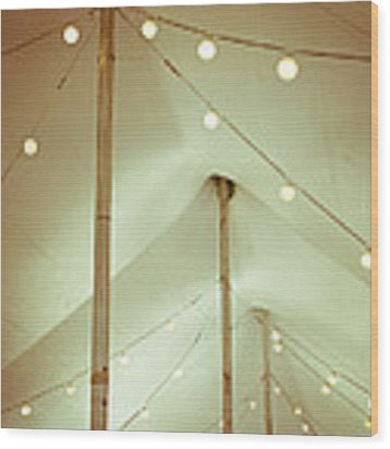Circus Tent Wood Print by Lupen  Grainne