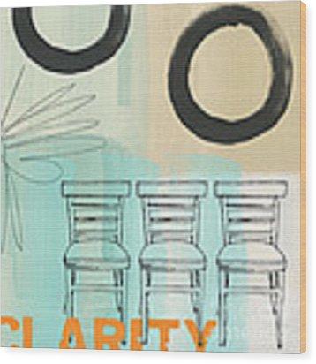 Clarity Wood Print by Linda Woods