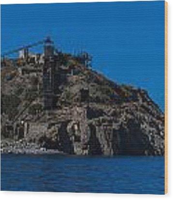 Elba Island - The Old Abandoned Mine 2 - La Miniera Abbandonata 2  - Ph Enrico Pelos Wood Print by Enrico Pelos