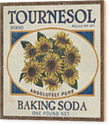 Tournesol Baking Soda Wood Print