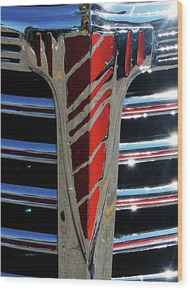 41 Chevrolet Emblem Wood Print