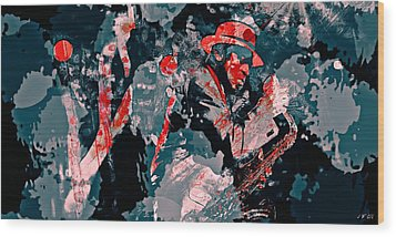 Archie Shepp Is A Legend Wood Print