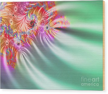 Aurora Color Dreams Wood Print by Stefano Senise