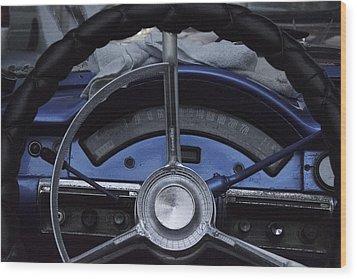 Cuba Car 6 Wood Print