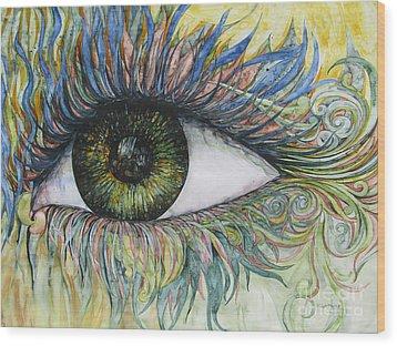 Eye For Details Wood Print