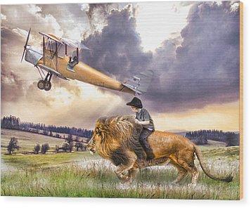 Flight Of Fancy Wood Print