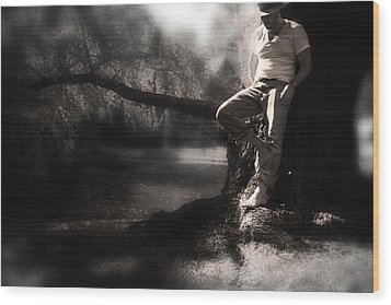 Wood Print featuring the photograph ... by Gray  Artus