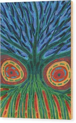 I See You Wood Print by Wojtek Kowalski