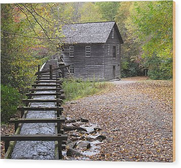 Mingus Mill - Color Wood Print by Fred Baird