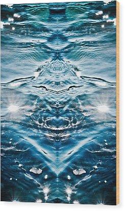 Portal No.11 Wood Print by Tim Cargill