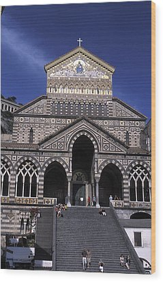 Saint Andrea In Amalfi, Italy Wood Print by Richard Nowitz