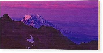 Sunrise Panorama Wood Print by Ansel Price