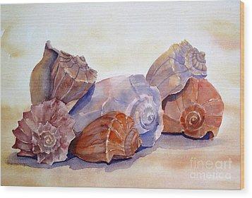 Whelks Wood Print