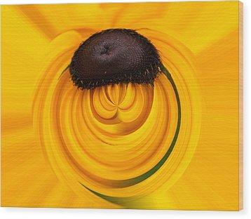 Yellow Wood Print by Jouko Lehto