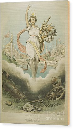 Atlanta Exposition, 1895 Wood Print by Granger