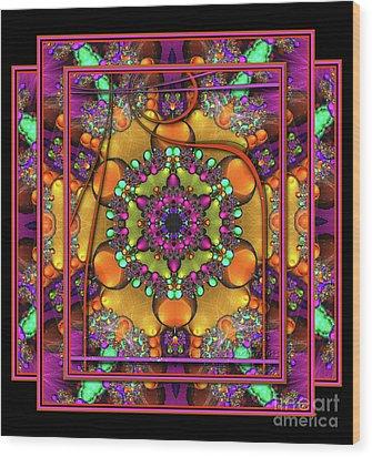001 - Mandala Wood Print