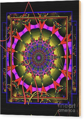 002 - Mandala Wood Print