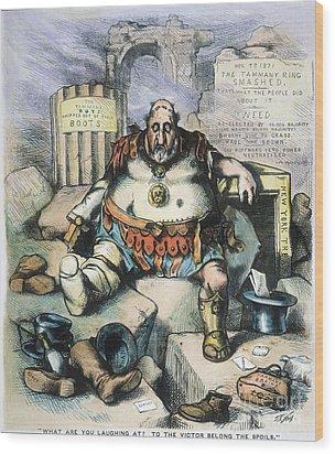 Nast: Tweed's Downfall Wood Print by Granger
