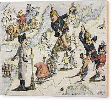 Europe: 1848 Uprisings Wood Print by Granger