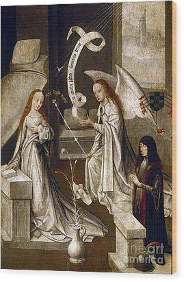 Spain: Annunciation, C1500 Wood Print by Granger